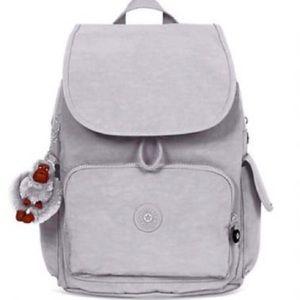 Kipling City Pack Medium in Grey